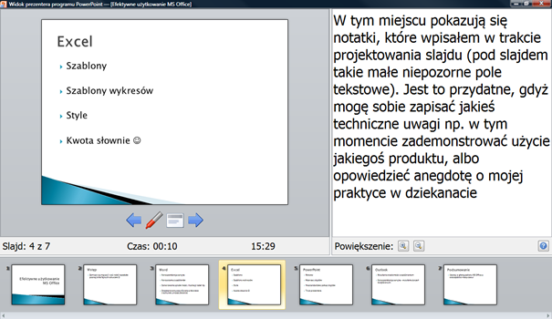 powerpoint tryb prezentera