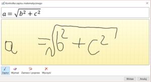 okno-równanie-odręczne