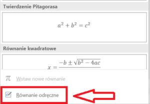 wstaw-równanie-równanie-odręczne